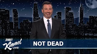 Jimmy Kimmel is BACK and Very Much ALIVE