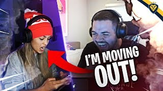VALKYRAE IS MOVING OUT AFTER WHAT WE DID! (Fortnite: Battle Royale)