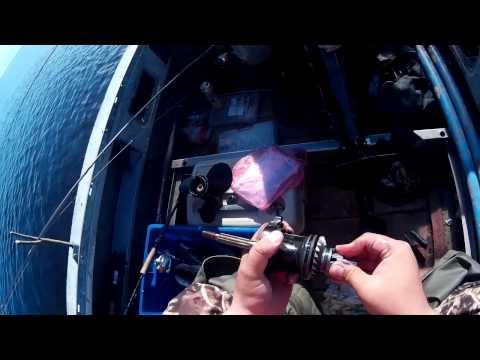 Ремонт мотора Suzuki DT15A на коленке