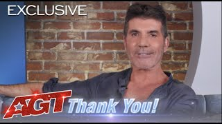 Simon Cowell Thanks Our 20 Million Subscribers | America's Got Talent thumbnail
