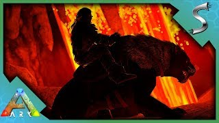 LAVA CAVE EXPLORATION & APEX DROP HUNTING! - Ultimate Ark [E17 - The Island]