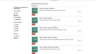 Wizard Student Overview – World Book Online