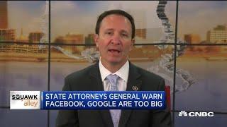 Louisiana Attorney General Jeff Landry on breaking up big tech