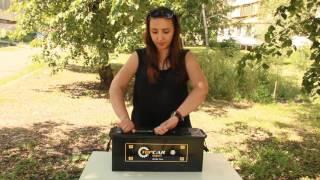 Аккумулятор top car 6СТ-140 от компании ПКФ «Электромотор» - видео 1