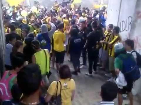 """""""Señores soy de san cristóbal"""" Barra: Avalancha Sur • Club: Deportivo Táchira"""