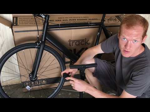 How To Assemble the 6KU Aluminum Single Speed Fixie Urban Track Bike