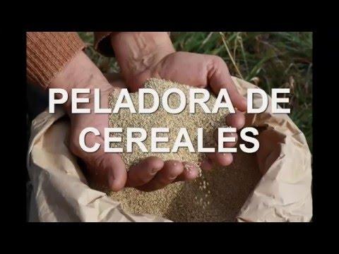 PELADORA DE CEREALES MAQUINOM
