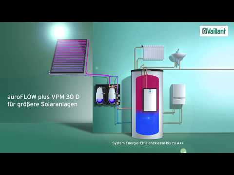 Solar Ladestation auoFLOW plus von Vaillant