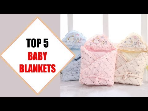 Top 5 Best Baby Blankets 2018   Best Baby Blanket Review By Jumpy Express