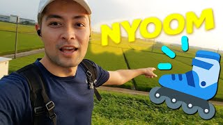 Skating through Japan's Countryside!