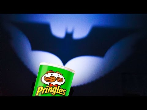 3 Pringles Tricks   Simple Life Hacks   Flashlight Batman