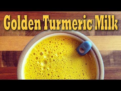 Video Golden Turmeric Milk