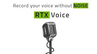 Record Your Voice Without Noise - RTX Voice (ft. Barnacules Nerdgasm)