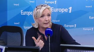 Marine Le Pen criticises government over Benalla scandal