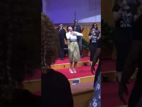 "Briana ""Bri"" Babineaux ""He's Able"" at CAYA/Alfred Street Baptist Church"