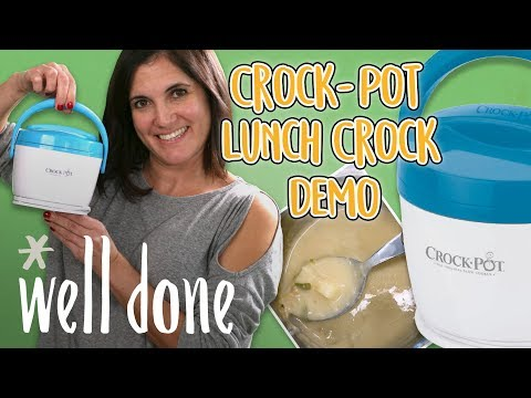 The Crock-Pot Lunch Crock Food Warmer Tested and Reviewed | Unboxing and Product Reviews | Well Done