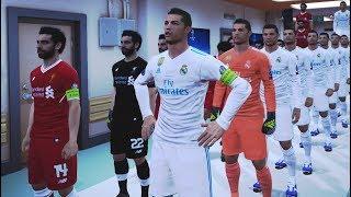 نادي ليفربول كله محمد صلاح ضد نادي الريال مدريد كله كريستيانو رونالدو | Pes 2017