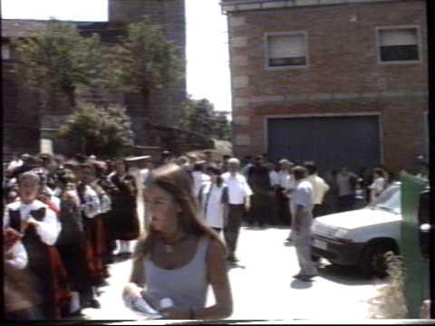FIESTA DE SORIHUELA  1995 - AGOSTO 5  EL OBISPO DE SALAMANCA