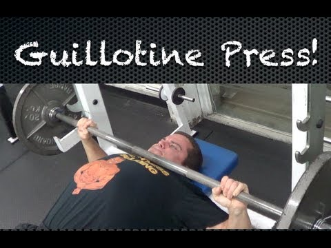 How To Do The Guillotine Press