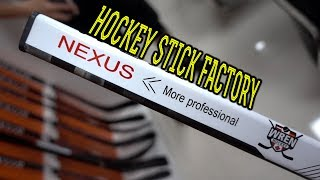 How Hockey Sticks Are Made (In China)