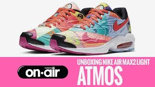 best loved aec7d 71444 133 - Unboxing Nike Air Max2 Light  ATMOS