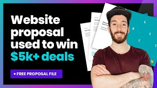 How to write a website design proposal | Create a web design proposal template ( ++ FREE TEMPLATE)