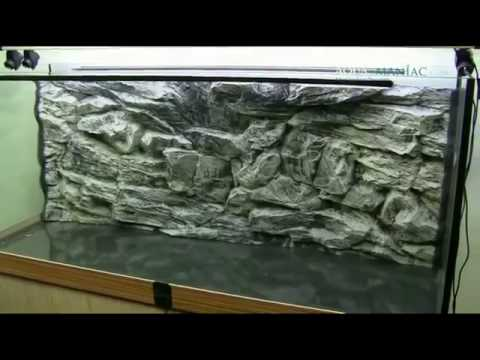 How to get a 3D aquarium background for any size of aquarium made by Aqua Maniac