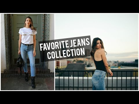 FAVORITE JEANS | DENIM COLLECTION + JEANS YOU NEED | DENIM LOOK BOOK