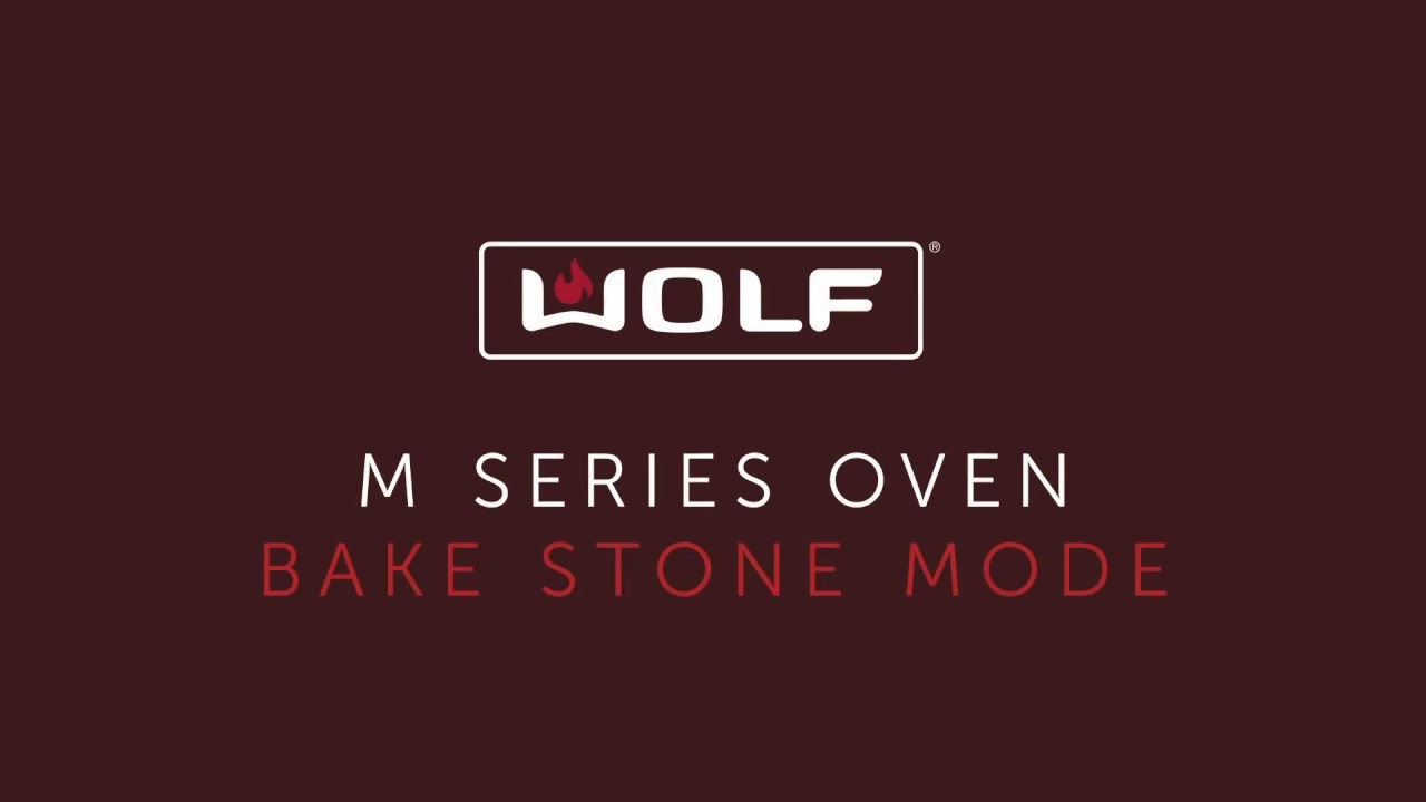 Wolf M Series Oven - Bake Stone Mode