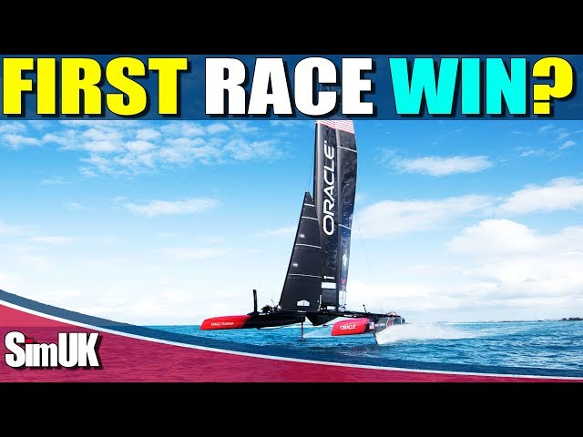 Sailaway the Sailing Simulator 1st Raceday the America's Cup Special