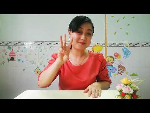 Hướng dẫn chơi trò chơi với những ngón tay xinh #mamnon #trochoi #kynangtremamnon