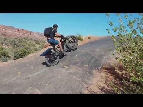 The Rungu Double-Wheel e-Bike Brings Serious Power to Off-roading