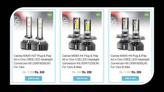 Buy LED HEADLIGHT BULBS Online