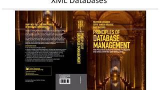 Chapter 10 XML Databases