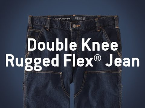 Product Spotlight: Carhartt 103329 - Rugged Flex® Double Knee Relaxed Fit Jean