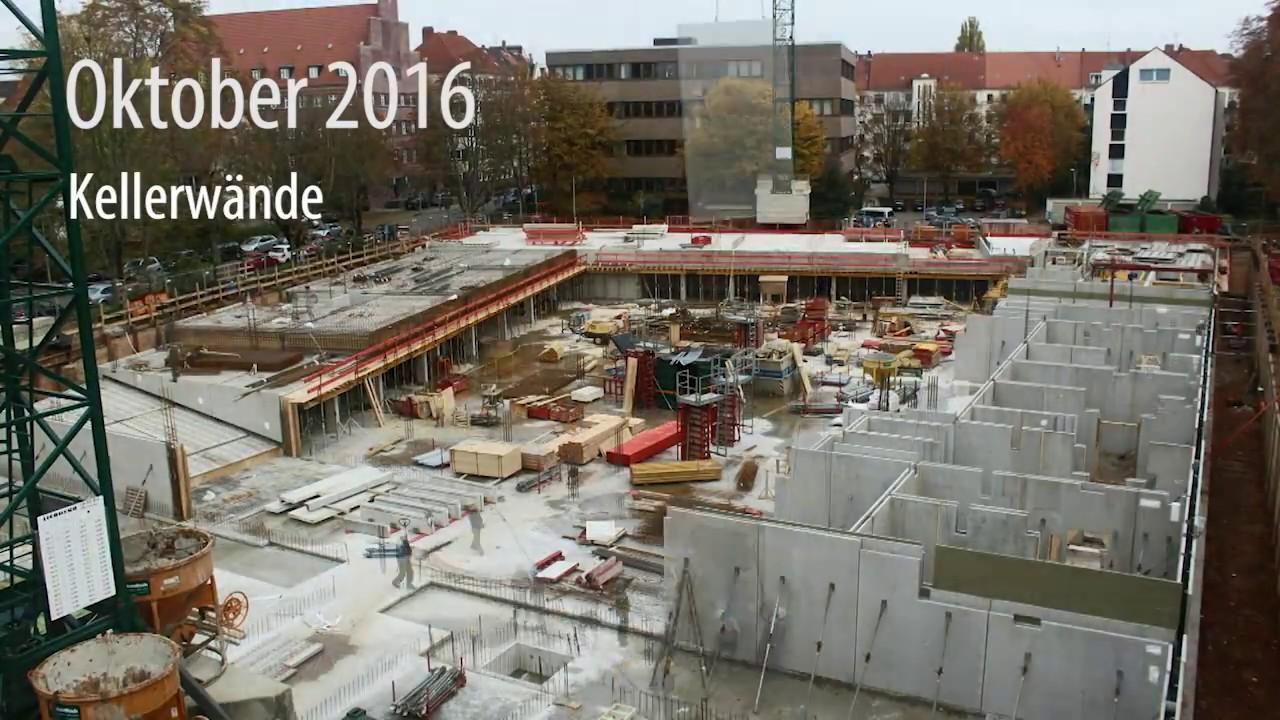 Gundlach | Zeitraffer Oktober - Dezember 2016 | Hannover - Altenbekener Damm | Wohnen am Maschsee