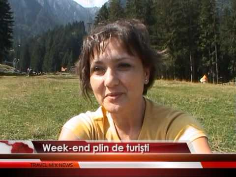 Weekend plin de turişti – VIDEO