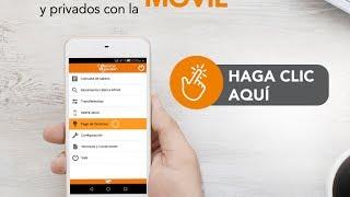 Les compartimos el siguiente tutorial para utilizar nuestra App BancaMóvil
