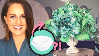 ⭐️HOW TO Make Hydrangea Coffee Filters Flowers!
