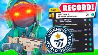 WE SET A WORLD RECORD!