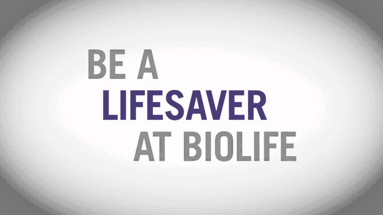Play Video: BioLife Plasma Services — Lifesaver