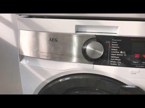 Lavatrice AEG 9000 series