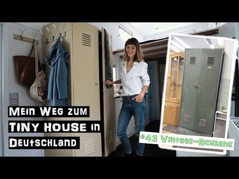 Army-Spind Wird Vintage-Schrank (Upcycling) ♦ Mein Weg zum TINY HOUSE in Deutschland #43