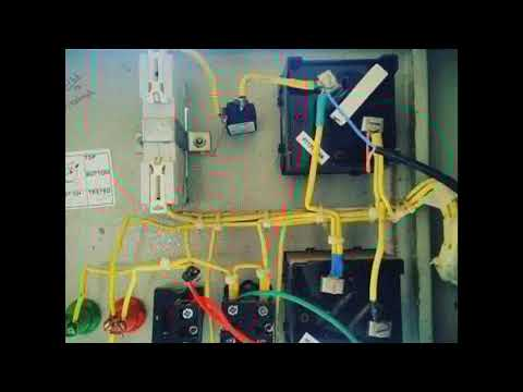 #automatic Complete installation automatic water level controller for DOL to submersible pampu