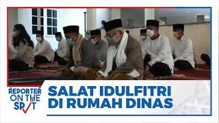 Wapres Ma'ruf Amin Salat Idul Fitri di Rumah Dinas