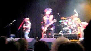 Adam Ant Victoria Theatre Halifax 19/1/12: Kick & Car Trouble