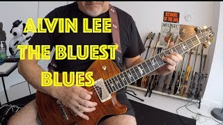 Alvin Lee George Harrison The Bluest Blues Instrumental Guitar Cover USA PRS MCarty 594 Single Cut