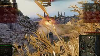 СУ-100, Монастырь, Стандартный бой