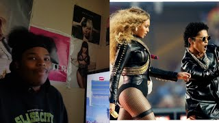 Beyonce & Bruno Mars Superbowl Performance (REACTION)