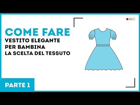 ffa4f09e1f52 Vestito elegante per bambina. La scelta del tessuto. Parte 1